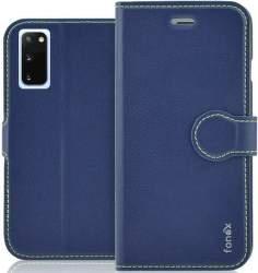 Fonex Identity flipové pouzdro pro Samsung Galaxy S20, modrá