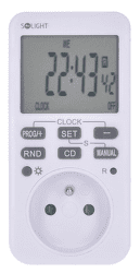 Solight DT33 časový spínač s LCD