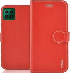 Fonex Identity flipové pouzdro pro Huawei P40 Lite červené