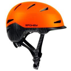 Spokey DOWNTOWN přilba 58-61 cm oranžová