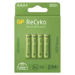 GP ReCyko HR03 (AAA) 950 mAh 4 ks