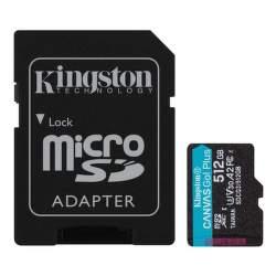 Kingston Canvas Go Plus 512 GB microSDXC U3 V30 + SD adaptér