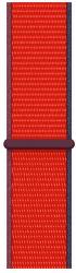 Apple Watch 44 mm sportovní provlékací řemínek červený