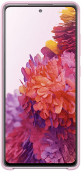 Samsung silikonové pouzdro pro Samsung Galaxy S20 FE růžové
