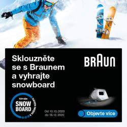Sklouzněte se s Braunem a vyhrajte snowboard