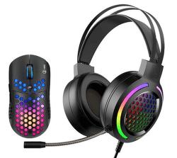Marvo MH01BK herní set - headset a myš