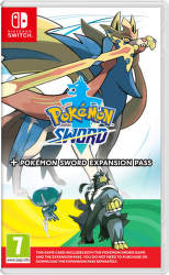 Pokémon Sword + Expansion Pass - Nintendo Switch hra