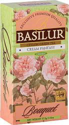 Basilur Bouquet Cream Fantasy 37,5g zelený čaj