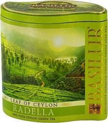 Basilur Leaf of Ceylon Radella 100g zelený čaj