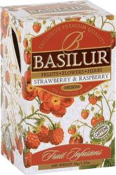 Basilur Fruit Strawberry & Raspberry 36g ovocný čaj