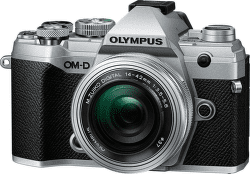 Olympus E-M5 Mark III Pancake Zoom Kit 14-42mm EZ stříbrná