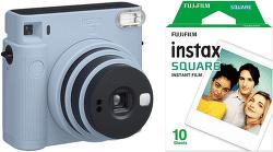 Fujifilm Instax Square SQ1 + 10 ks filmu modrý