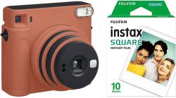 Fujifilm Instax Square SQ1 + 10 ks filmu oranžový