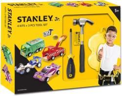 Stanley Jr. U001-K04-T03-SY sada 4 autíček, šroubováku a kladiva