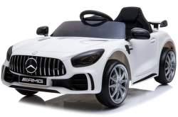 SparkTech Mercedes GT-R AMG elektrické autíčko bílé