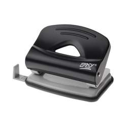 Easy 1250 kovová děrovačka na 25 listů černá