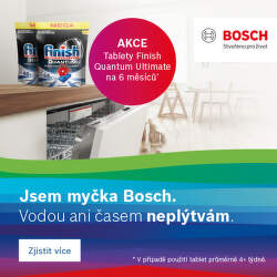 K myčce Bosch tablety jako dárek
