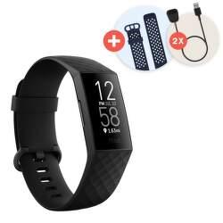 Fitbit Charge 4 Bundle černý