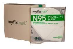 Myfixmask FFP2 respirátor bílý 20ks