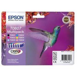 Epson T0807 color (kolibrík) - inkoustová náplň
