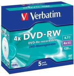 Verbatim 43284 DVD-RW 4,7 GB (1 ks)