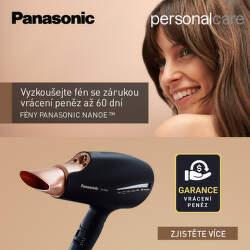 Záruka vrácení peněz na fény Panasonic