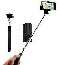 Winner teleskopická selfie tyč s Bluetooth ovladačem, černá
