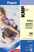 KMP fotografický papír 50ks PT 43