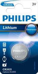 Philips Lithium CR 2025, 1ks