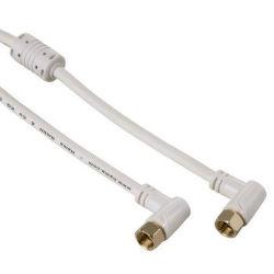 Hama 122511 - SAT kabel, F - F konektor, 90°, 5m