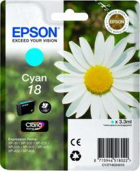 EPSON T1802 18 cyan (sedmokráska) - atrament