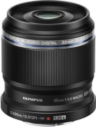 Olympus M.Zuiko Digital ED 30 mm 1:3.5 Macro (černý)