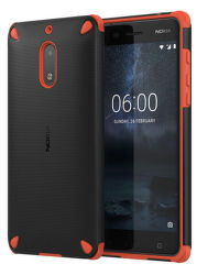 Nokia Rugged Impact Case pro Nokia 6, oranžovo černé