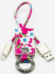 Mizoo K2-01i lightning-USB klíčenka, červená