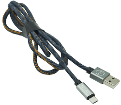 Mizoo datový kabel Micro USB 1 m 2,1 A modrý