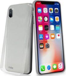 SBS Extra Slim pouzdro pro iPhone X, transparentní