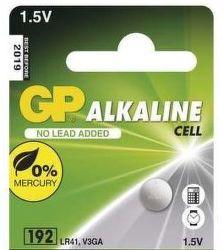 GP LR41 1KS knoflíková baterie