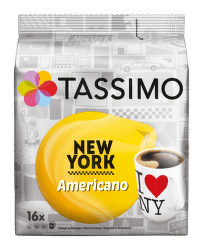Tassimo New York Americano (16ks)