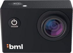BML cShot 4K akční kamera, černá