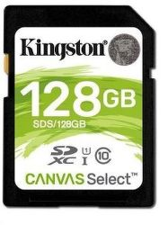 Kingston SDXC Canvas Select 128 GB UHS-I