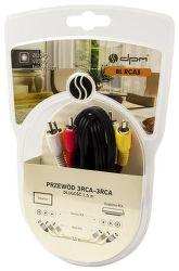DPM BLRCA3, Kabel 3xCinch-3xCinch 1,5m