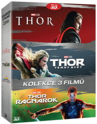 Thor: Kolekce (3D + 2D) - 6x Blu-ray film