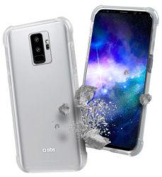 SBS Hard Shock pouzdro pro Galaxy S9+, transparentní