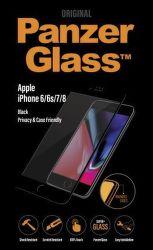 PanzerGlass Premium Privacy tvrzené sklo pro iPhone 8/7/6/6s, černé