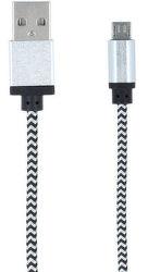 Forever microUSB kabel 1m, bílá