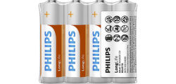 Philips Long Life R6L4F/10 4x AA