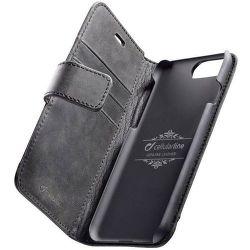 Cellular Line Supreme knížkové pouzdro pro iPhone 8/7, černá
