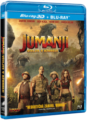Jumanji: Vítejte v džungli - 2D+3D Blu-ray film