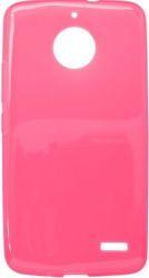 Mobilnet gumové pouzdro pro Motorola Moto E4, růžové