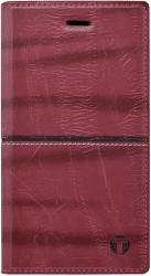 Mobilnet Luxury knížkové pouzdro pro Galaxy A3 2017, červené